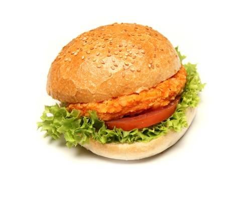 Crispy-Chickenburger